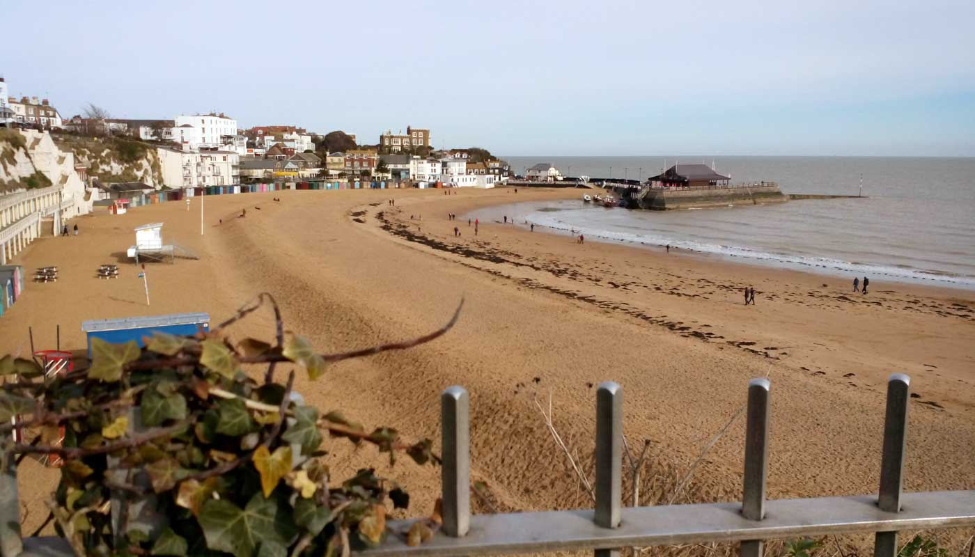 Strand von Broadstairs