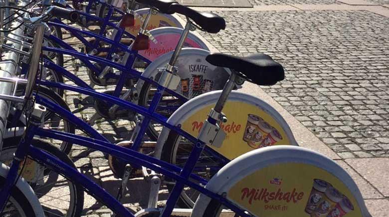 Fahrradstation am Hauptbahnhof Oslo