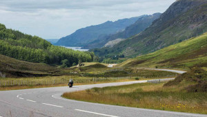 Bike Trail in Schottland
