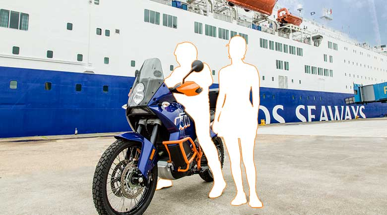 Aktion: Biker wanted! Mit DFDS & Louis auf Schottland Tour