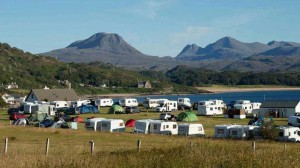 Gairloch Camping © VisitScotland