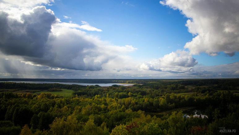 Nationalpark Aukštaitija - weite Wälder