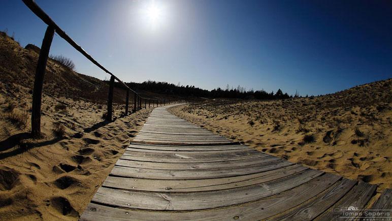 Kurische Nehrung Strand bei Nida