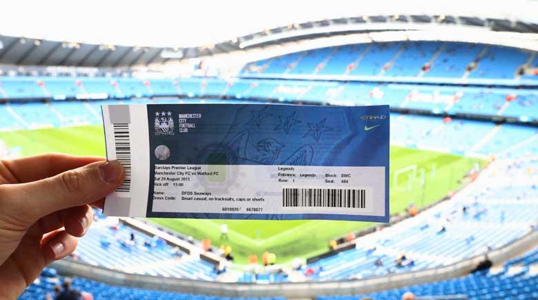 Manchester City Eintrittskarte ins Ethiad Stadium