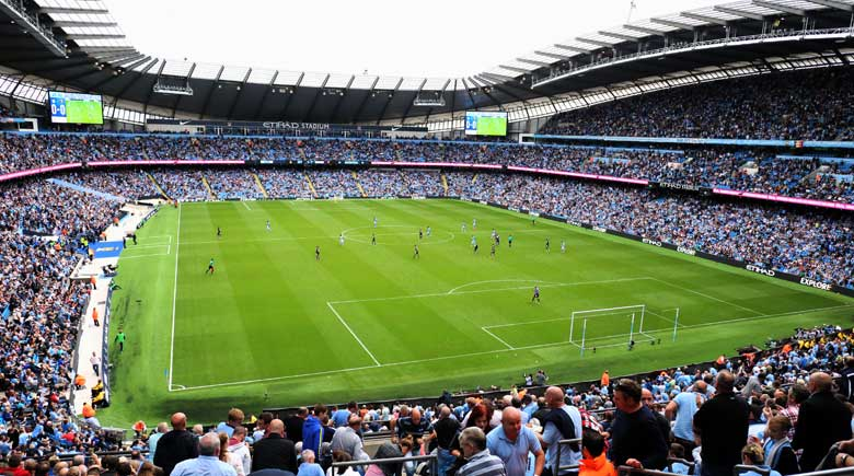Premie League Spiel: Manchester City vs. Watford
