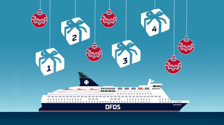 Advent bei DFDS