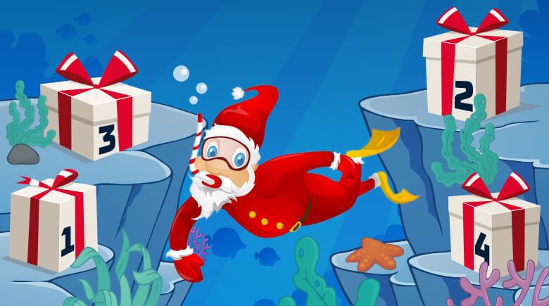 Advent in der Unterwasserwelt
