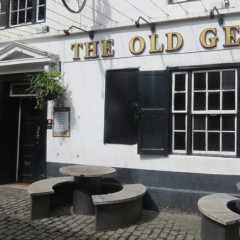 "Pub ""The Old George"" in Newcastle"
