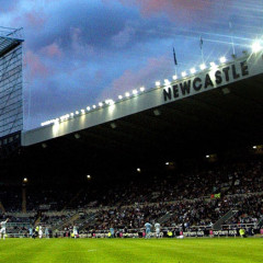 St. James Park Stadion in Newcastle