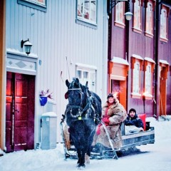 Schlittenfahrt in Røros © Thomas Rasmus Skaug - Visitnorway.com