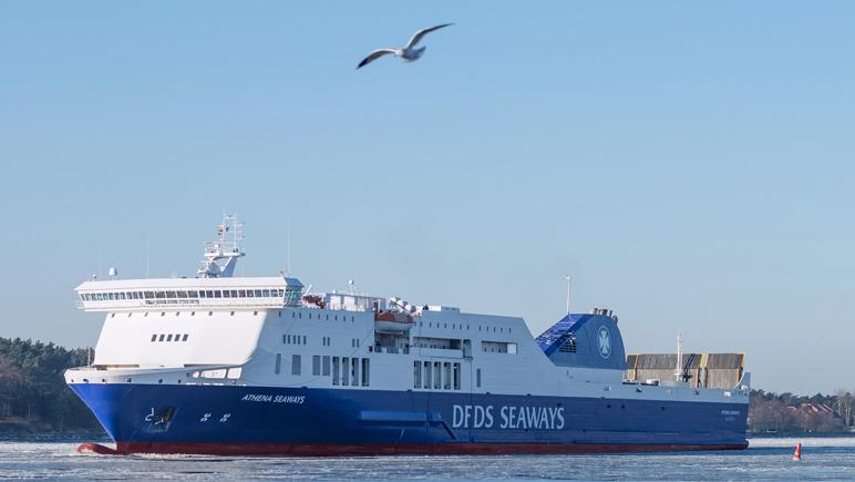 ATHENA SEAWAYS © DFDS