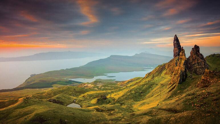 Filmkulissen Isle of Skye Old Man Storr © VisitScotland