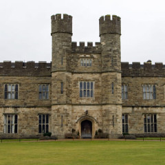 Leeds Castle Frontalansicht