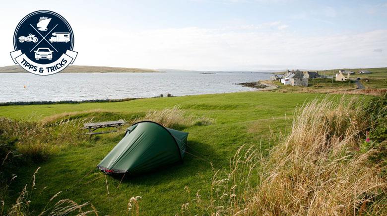 Wild Campen in Schottland