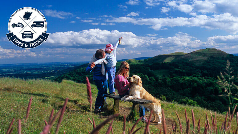 Urlaub mit Hund Herefordshire England Credits VisitBritain