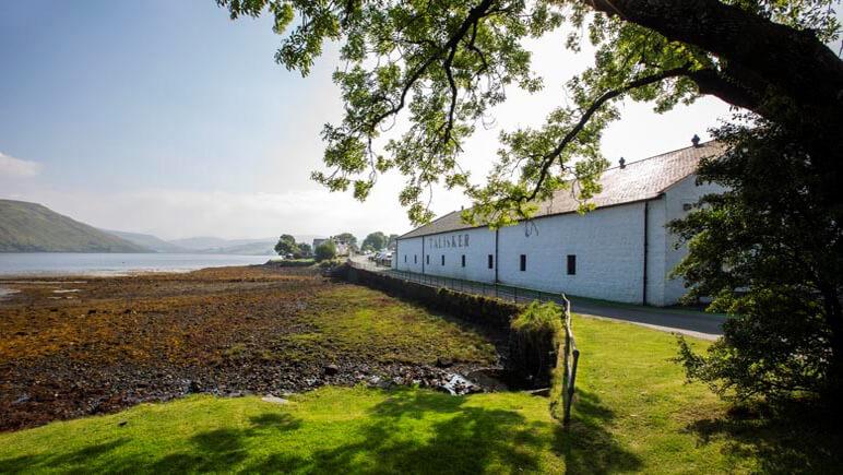 Whisky Destillerie Talisker auf der Isle of Skye © Udo Haafke