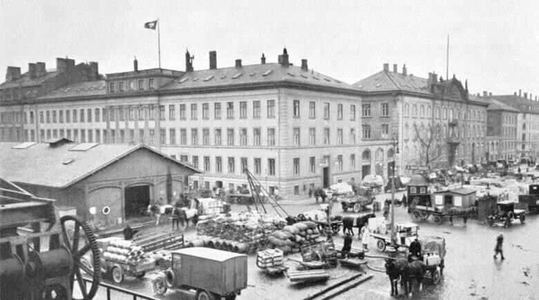 Das DFDS Hauptquartier in Kopenhagen