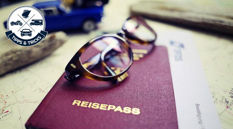 Checkliste Reisedokumente