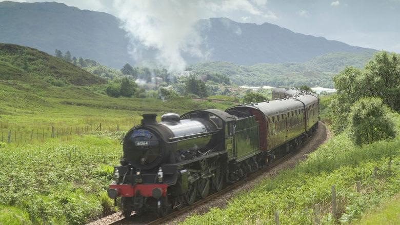 Der Jacobite Train; Foto: VisitBritain