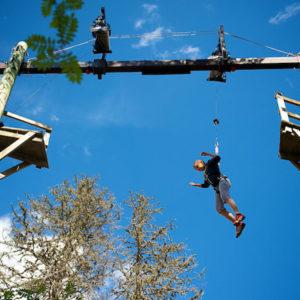 Hochseilbahn im Landmark Forrest, Foto: Danny Fullerton