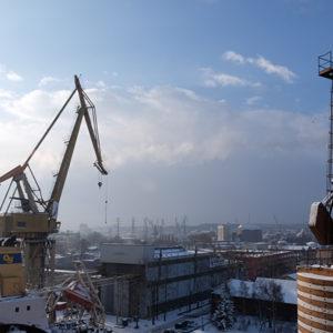 In der polnischen Werft