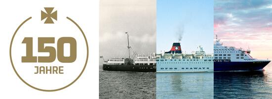 DFDS Jubiläum 150 Jahre