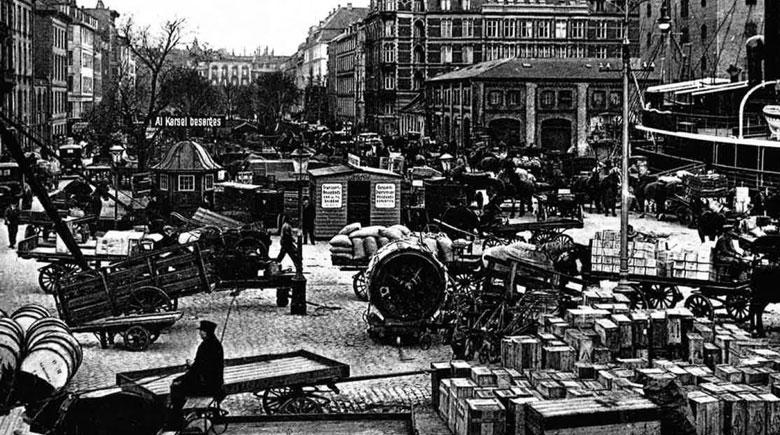 Handelsstadt Kopenhagen um 1900
