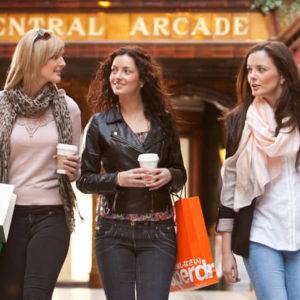 Newcastle Shopping der Central Arcade