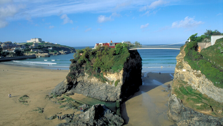 Rosamunde Pilcher Newquay Cornwall_co_VisitBritain