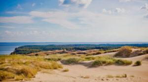 Sanddüne Kurische Nehrung, Litauen