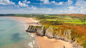 Three Cliffs Bay © Visitwales