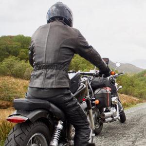 Highlands mit Motorrad © Marten Suhre
