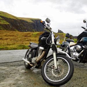 Schottland und Motorrad © Marten Suhre