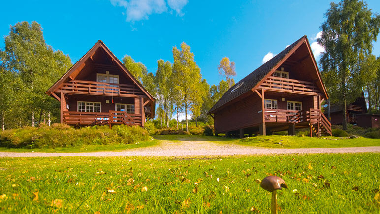 Lodges in Tomich © TUI