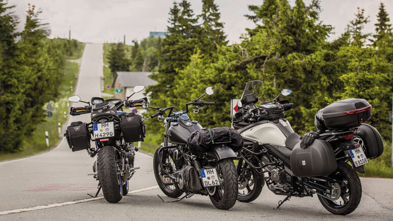 Urlaub mit Motorrad © Detlev Louis Motorrad-Vertriebsgesellschaft