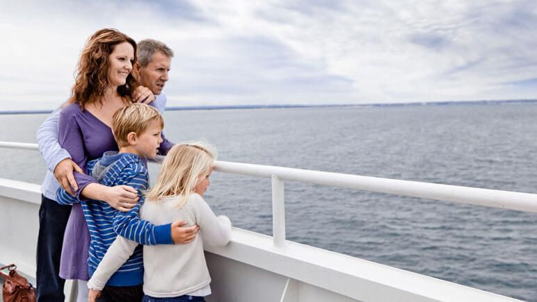 Aussicht von Bord © DFDS