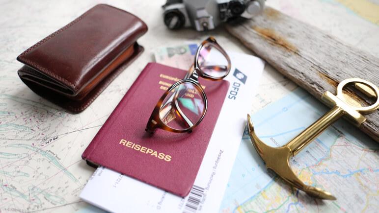 Reisedokumente © DFDS