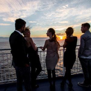 Aussicht von Deck © DFDS