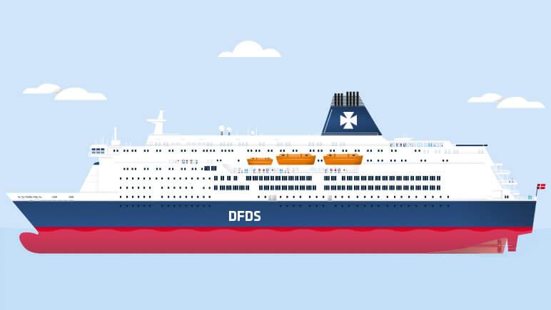 KING SEAWAYS © DFDS