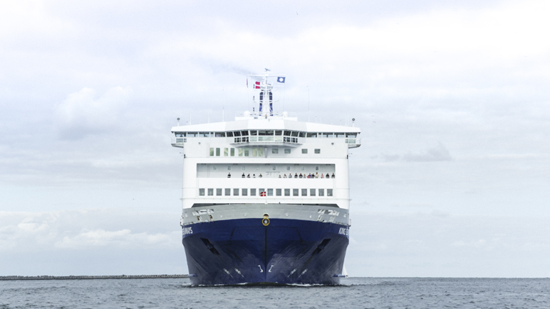 KING SEAWAYS_Frontal © DFDS