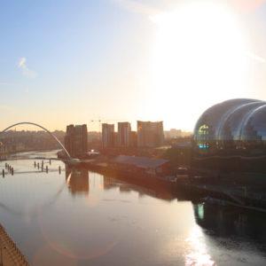 Aussicht von der Tyne Bridge © VisitBritain