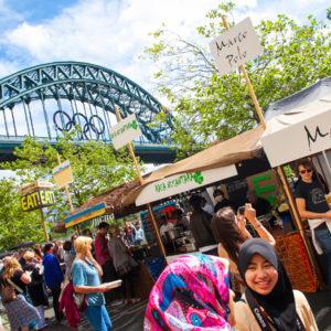 Newcastle-Quayside Market © VisitBritain