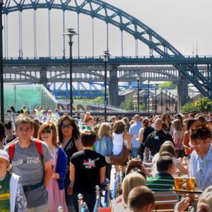 Quayside Newcastle © VisitBritain
