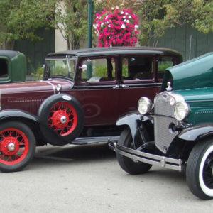 Oldtimer Autos Südengland