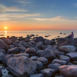 Relaxen an Estlands Ostseeküste