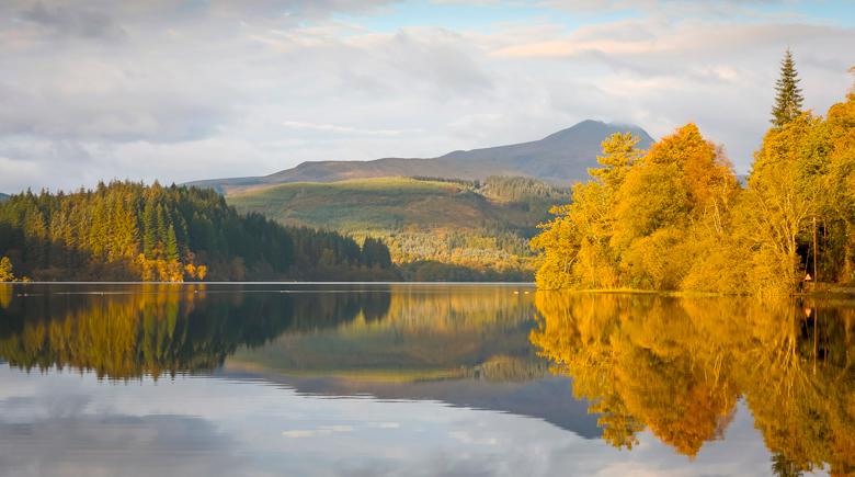 Loch Ard in Loch Lomond und Trossachs National Park