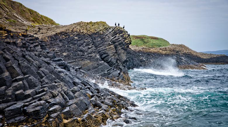 Staffa Island und Fingalshöhle