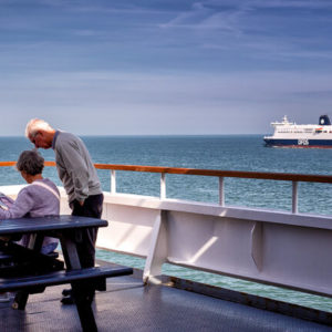 An Bord der Fähre nach Dover / DFDS