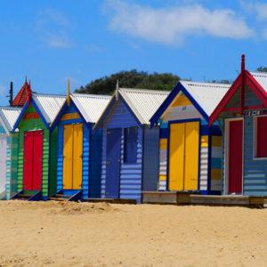 Beachhouses in Brighton