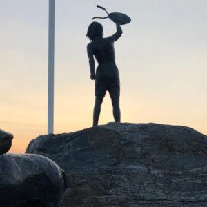 Statue Klaipeda Kindheitstraum